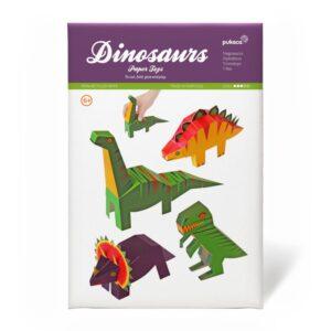 Dinosaurios para recortar en 3D