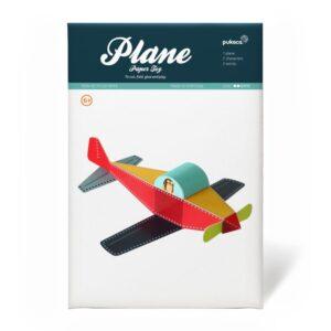 Avioneta de papel 3D