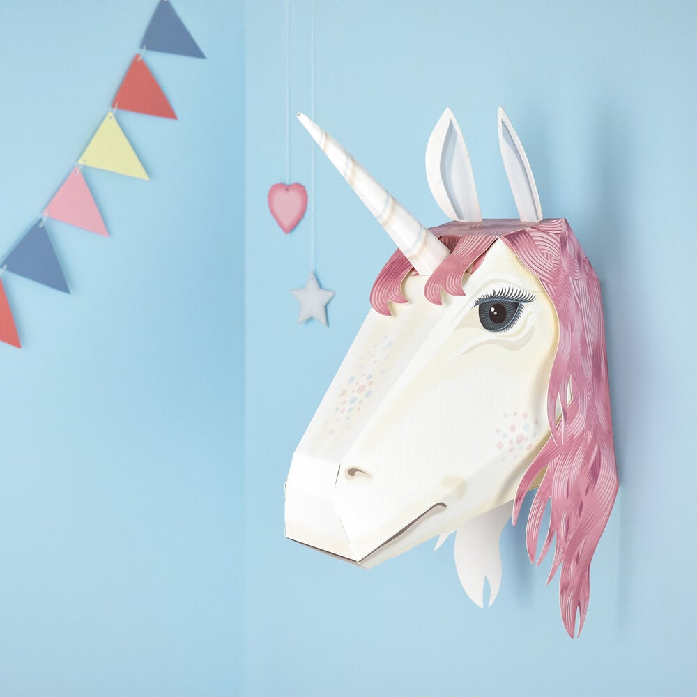 juguetes de papel - unicornio